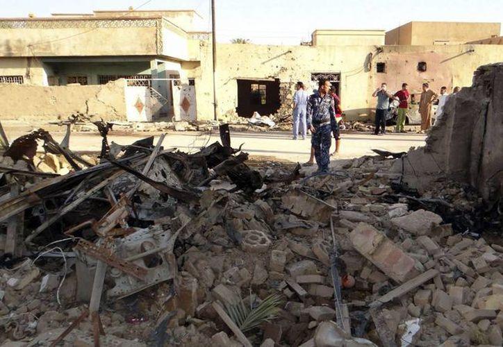 Además de que hubo siete muertos, trece personas resultaron lesionadas en uno de los ataques. (EFE/Contxto)