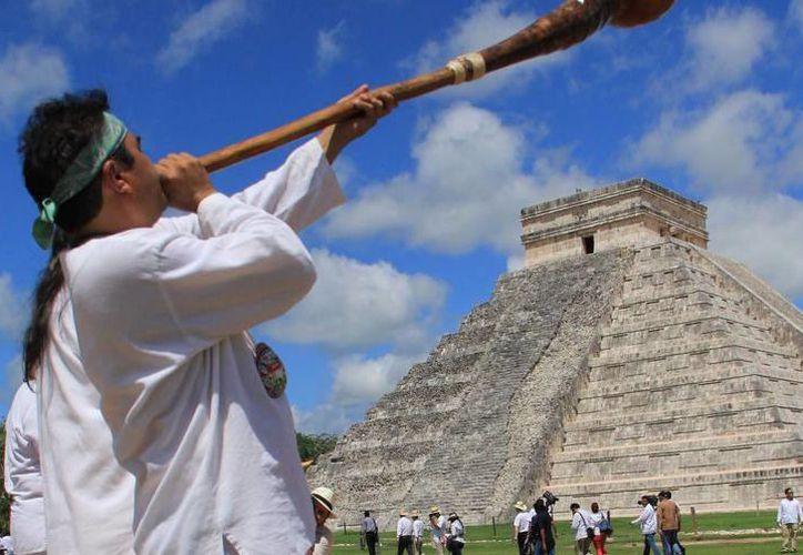 Durante el primer trimestre del año, Chichén Itzá fue la zona arqueológica más visitada, con más de 900 mil turistas. (SIPSE)