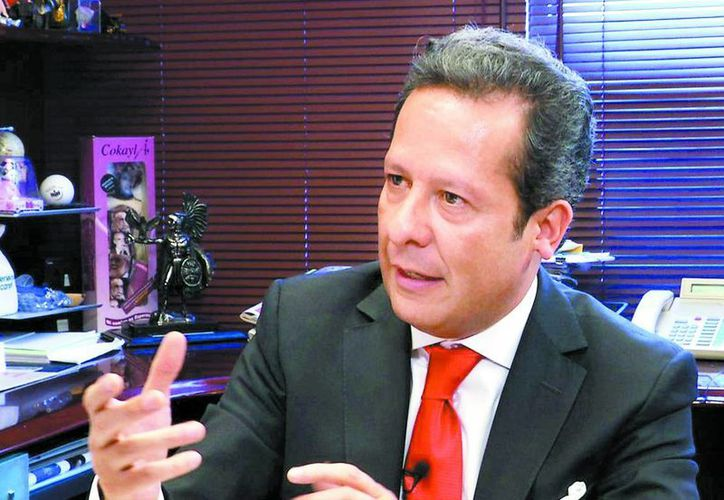 """Eduardo Sánchez, subsecretario de normatividad de medios de la Secretaría de Gobernación, aseguró que hubo """"error matemático"""" en cifras sobre secuestro (Milenio)."""