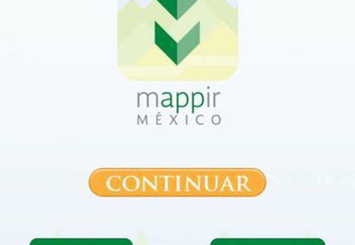 Traza tu ruta, con plataforma Mappir México, cuenta además con asistencia en línea que le ayuda a resolver cualquier duda. (Play Store)