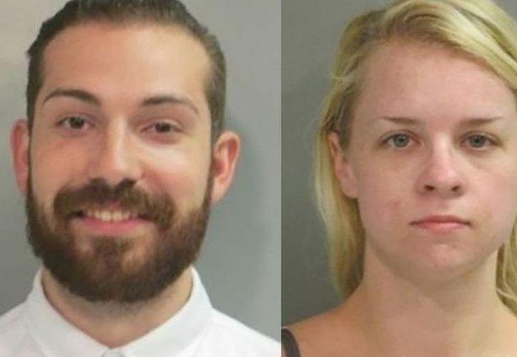Nicholas Lowe y Maxine Feldstein armaron el plan en una de las visitas en la cárcel. (Univisión)