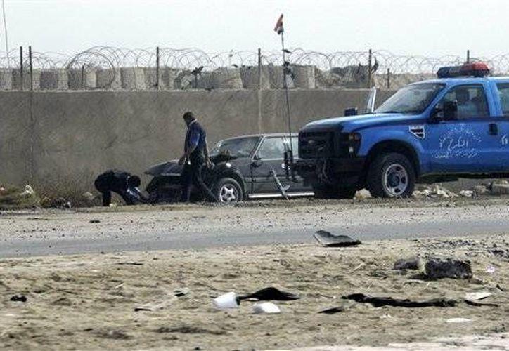 El brazo de Al Qaeda en Irak se atribuyó la responsabilidad del audaz ataque. (Archivo/AP)