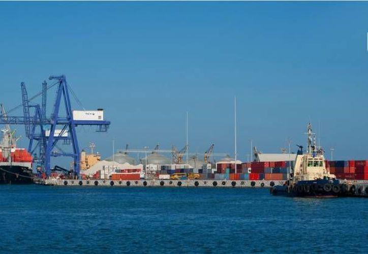 Las exportaciones desde Progreso dan seguridad a los empresarios. (puertosyucatan.com)