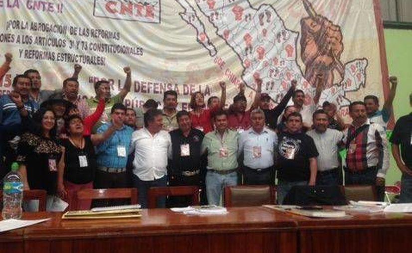 Tercer Congreso Nacional Extraordinario de la CNTE (Fanny Miranda/Milenio)
