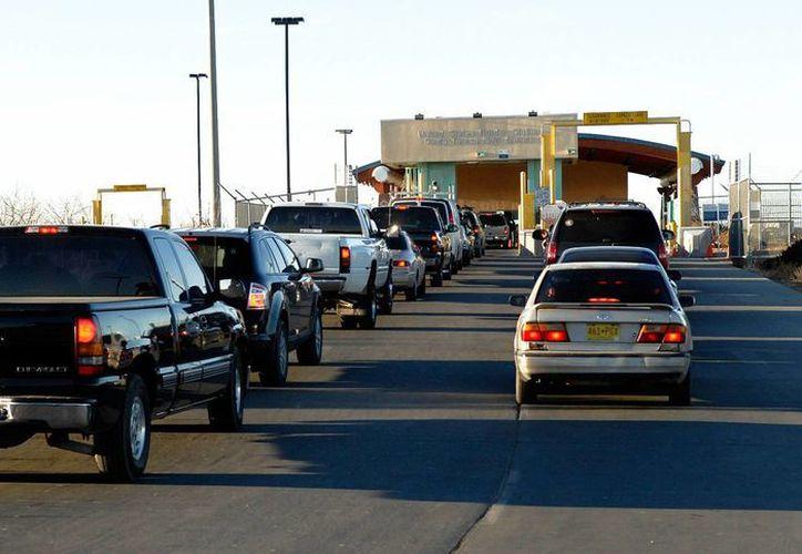 Santa Teresa, Nuevo México, es el único puerto aduanero con un carril para el procesamiento de vehículos. (abqjournal.com)
