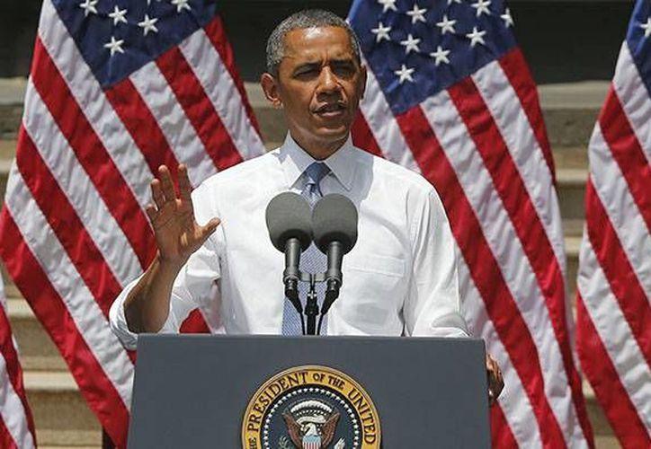 Obama dijo que cada vez que Estados Unidos ha buscado purificar el aire y el agua, los cínicos han puesto el grito en el cielo. (Agencias)