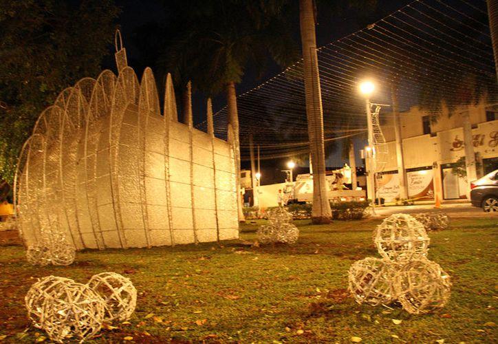 El director de servicios municipales de la Comuna señaló que por ser el primer año de gestión se utilizará la misma decoración decembrina del año pasado.