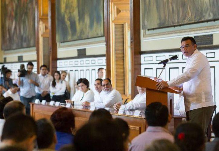 """El Gobernador inauguró el XVI Congreso Nacional de Derecho Agrario en México y II Internacional """"Los nuevos escenarios del Derecho Agrario"""". (Cortesía)"""