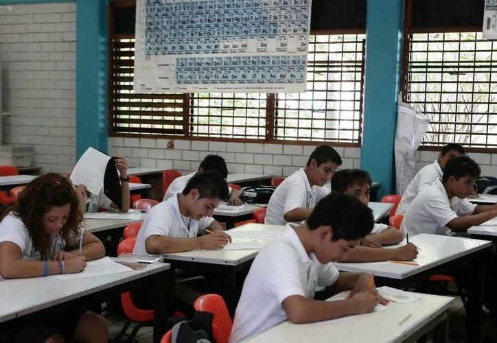 Los niveles escolares que tendrán días de asueto van desde preescolar, pasando por el nivel primaria, secundaria, medio superior y superior. (Archivo/SIPSE)