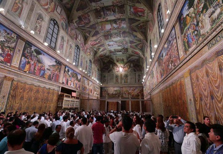 El ciclo de eventos inició el lunes por la noche con una función especial para 200 personas de la comunidad sacerdotal y 150 invitados. (Fotos: Jorge Acosta)