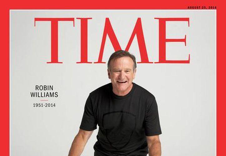Por segunda ocasión Robin Williams engalana la portada de la revista. (Time.com)