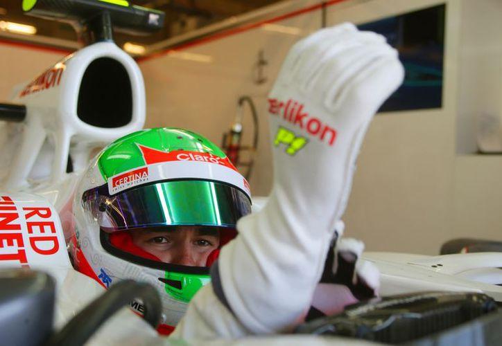 'Checo' confía en terminar el GP de Brasil entre los 10 primeros. (Foto: Agencias)