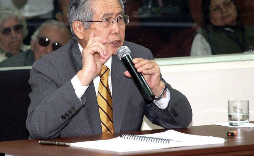 Fujimori cumple una condena de 25 años de prisión. (EFE)