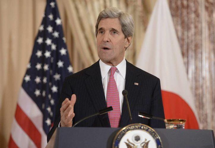 El secretario de Estado estadounidense John Kerry se reunirá este miércoles en París con el presidente de la Autoridad Nacional Palestina (ANP). (EFE/Archivo)
