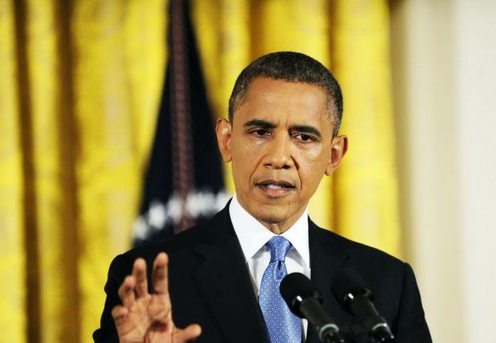 """Obama calificó la reunión con los congresistas como """"constructiva"""". (Notimex)"""