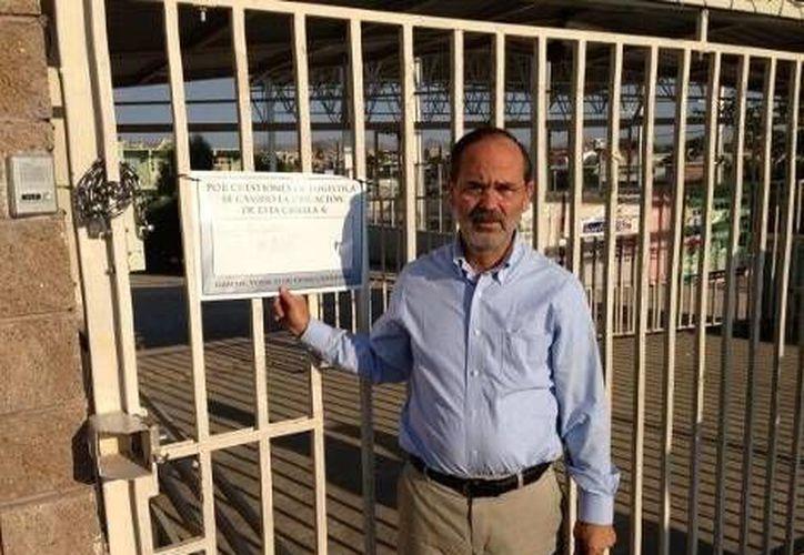 Madero denunció que la dirección a la que enviaba el letrero de la casilla con candado era inexistente. (Milenio)