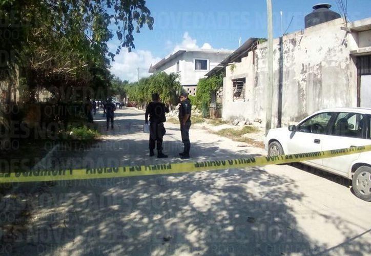 Autoridades arribaron al lugar para realizar las investigaciones correspondientes. (Redacción/ SIPSE)