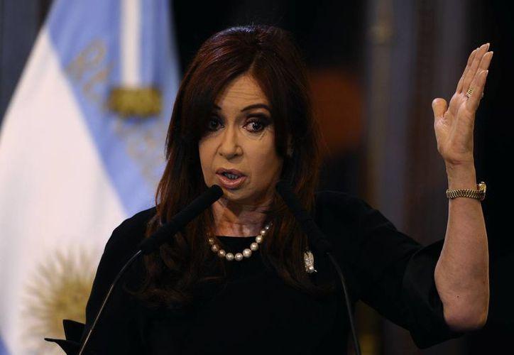 La presidenta de argentina Cristina Fernández realizó la exigencia de equidad en el ejercito desde el 2011. (Agencias)