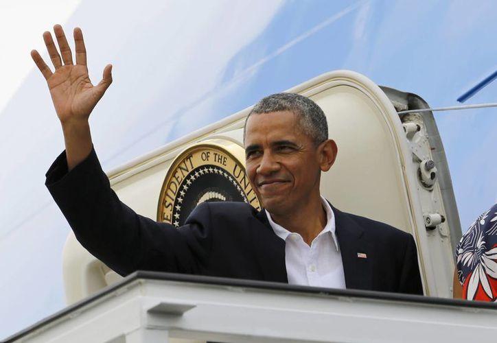 Obama se despidió de La Habana alrededor de las 16:00 horas del tiempo de la isla. (AP)