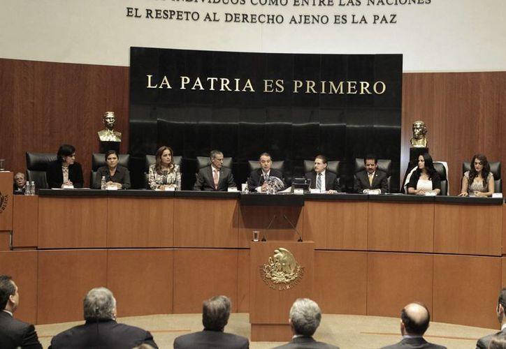 La presidencia de la Comisión de seguimiento al nuevo aeropuerto será rotativa entre los grupos parlamentarios. (Notimex)