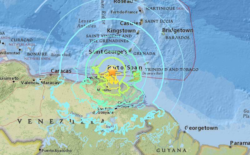 Sismo de 7.3 grados sacude Venezuela