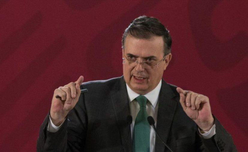El titular de la Secretaría de Relaciones Exteriores (SRE), Marcelo Ebrard Casaubón (Foto: Twitter)