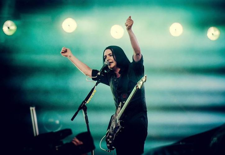 Brian Molko, vocalista y guitarrista de Placebo. (Joris Bulckens/ Facebook: Placebo)