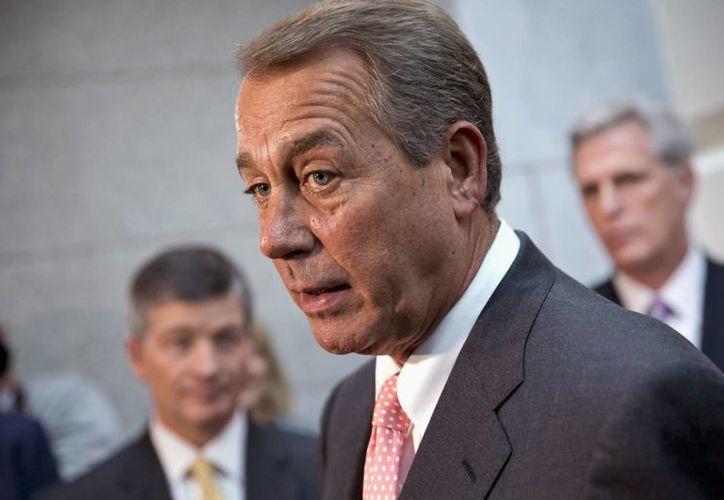 """Boehner dijo que """"es hora de iniciar esas negociaciones y esta conversación"""". (Agencias)"""