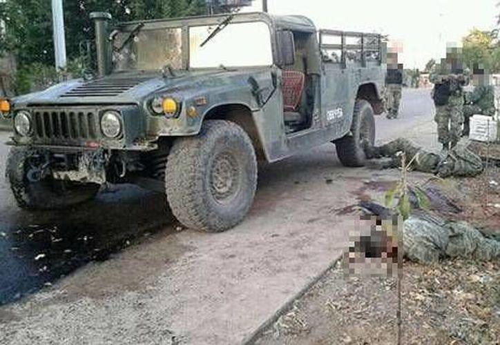 El gobierno de Sinaloa condenó enérgicamente el homicidio de los militares. (lopezdoriga.com)