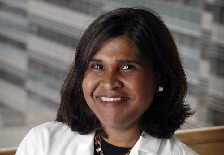Imagen de la Dra.Deborah Persaud de la Universidad de Johns Hopkins en Baltimore, responsable de la investigación. (AGENCIAS)