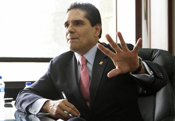 Silvano Aureoles, coordinador del PRD, criticó al PRI y al PAN por 'romper los acuerdos'. (Notimex/Foto de archivo)