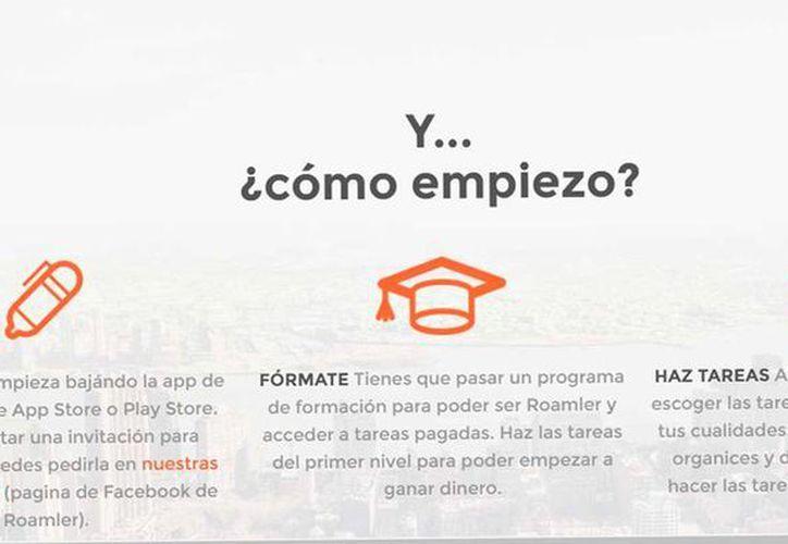 App Roamler da empleo a personas sin experiencia de 18 a 64 años de edad a través del crowdsourcing.