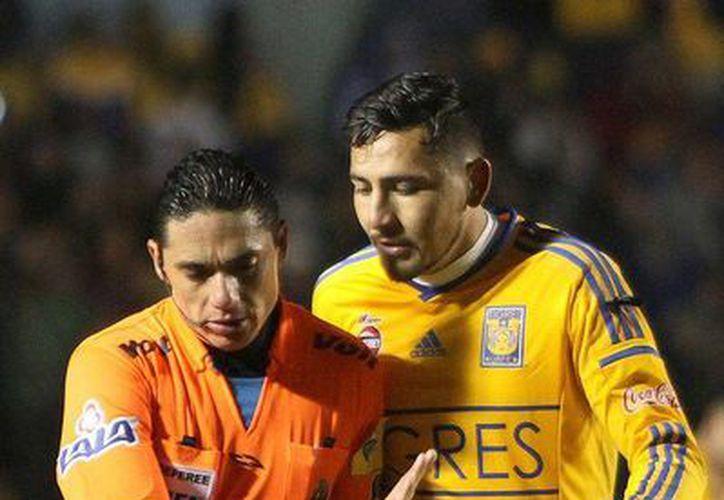 Darío Carreño dio positivo en un control antidopaje por clembuterol tras participar en un encuentro de la Copa Libertadores 2015. (Jammedia)
