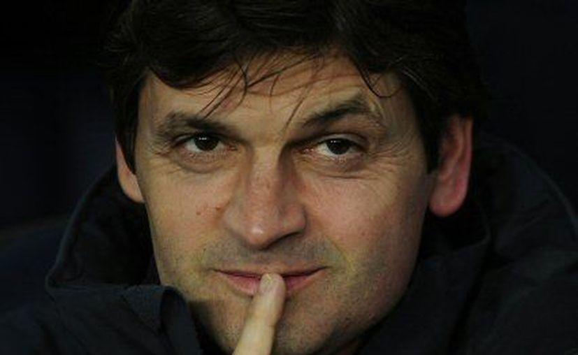 Vilanova reemplazó a Guardiola al final de la temporada pasada. (Agencias)