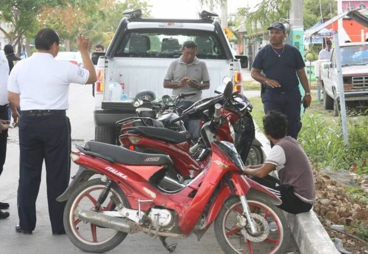 Las motocicletas recuperadas tenían reporte de robo. (Imagen contexto/SSIPSE)