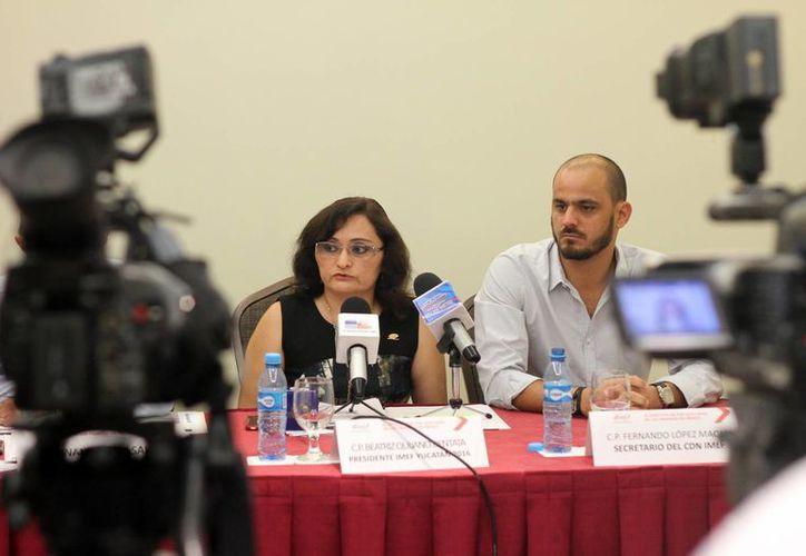 La presidenta del IMEF Yucatán, Beatriz Quijano Bentata, declaró que las autoridades federales están buscando respecto a las tasas de interés que la inflación no suba más del 3 por ciento. (Milenio Novedades)