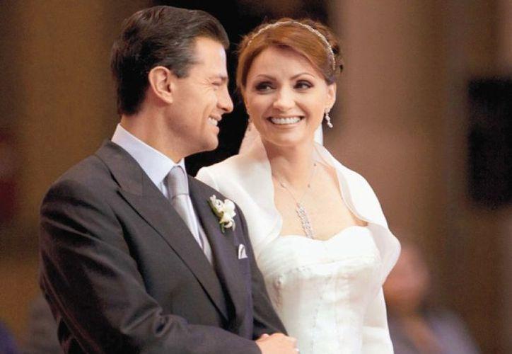 El mandatario asistió junto a su hija a una subasta de la fundación Mónica Pretelini. (Quién)