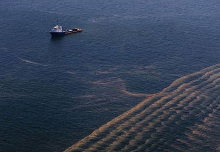 En abril del 2010 una plataforma de la empresa British Petroleum explotó en el Golfo de México, provocando un derrame aproximado de 200 mil galones de petróleo crudo al día Los gobiernos de México y Estados Unidos interpusieron una demanda, cuya información quedará abierta al requerimiento público, así lo informo el INAI este sábado. (greenpeace.org)