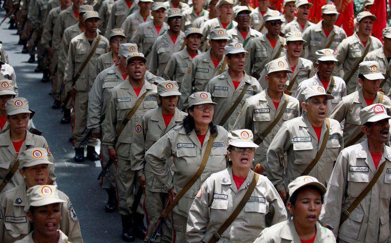 Un muerto en la masiva manifestación contra Maduro