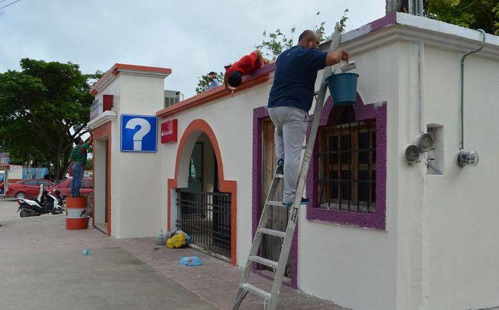 Uno de los proyectos es la mejora de las fachadas de los establecimientos que se encuentran en la ciudad. (Javier Ortiz/SIPSE)