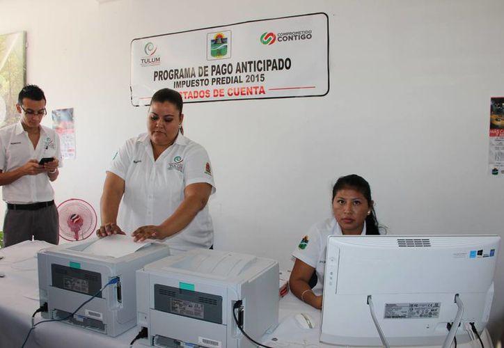 El ayuntamiento de Tulum anunció descuentos a quienes paguen antes de marzo el impuesto predial. (Rossy López/SIPSE)