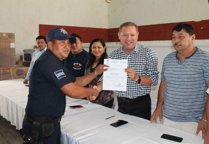 Miguel Antonio Chan Canché es el nuevo subdirector operativo de Seguridad Pública y Tránsito municipal. (Raúl Balam/SIPSE)