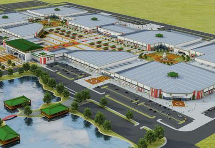 El pasado 10 de diciembre, el director general de Dragon Mart Cancún, entregó una carta a las oficinas centrales del Cemda. (Redacción/SIPSE)