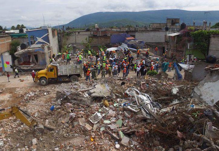 Los sismos dejaron impresionantes daños en el Centro y parte del Sur del país. (Israel Leal/SIPSE)