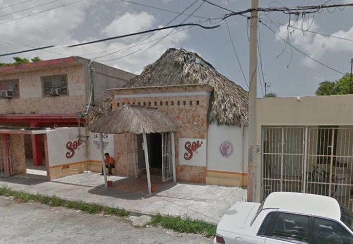 """El bar """"La Hach"""", de Progreso fue clausurado después de un zafarrancho provocado por dos individuos. (Google Maps)"""