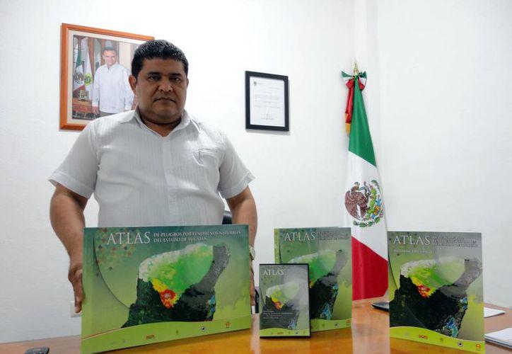 El Atlas de Riesgo es resultado de un trabajo de dos años, a cargo del Sistema Geológico Mexicano, el cual integró todos los peligros por vulnerabilidad que pudiera tener la población yucateca. (Milenio Novedades)