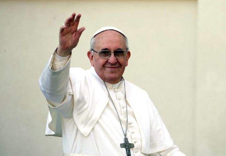 El Papa Francisco visitará México el próximo mes. La Conferencia del Episcopado Mexicano abrió cuentas en las principales redes sociales para que los católicos de México sigan al Pontífice. (Archivo/Agencias)