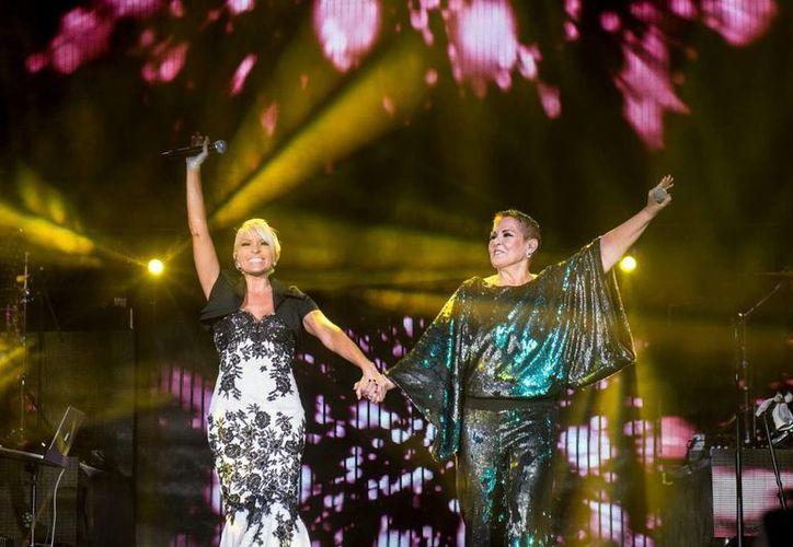 Yuri y Lupita D'Alessio cantarán para los yucatecos el próximo 16 de agosto en el Coliseo de Yucatán. (Milenio Novedades)