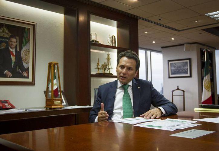 Emilio Lozoya afirma que la empresa tiene la experiencia para ser un aliado de las firmas locales e internacionales interesadas en la apertura del negocio de los hidrocarburos. (Archivo/Notimex)