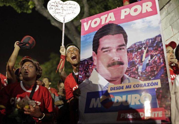 El 14 de abril los venezolanos acudirán a las urnas. (Agencias)